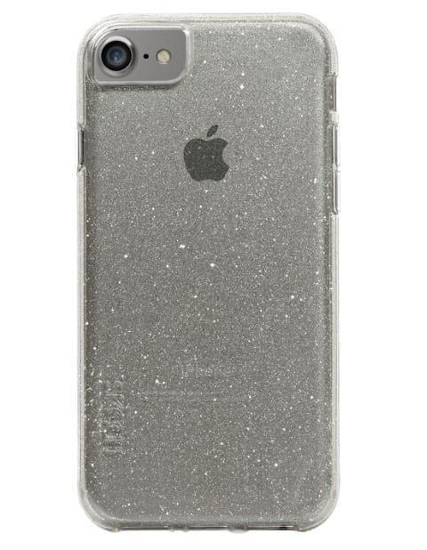 כיסוי אפור שקוף לאייפון 6/7/8 - skech MSparkle atrix