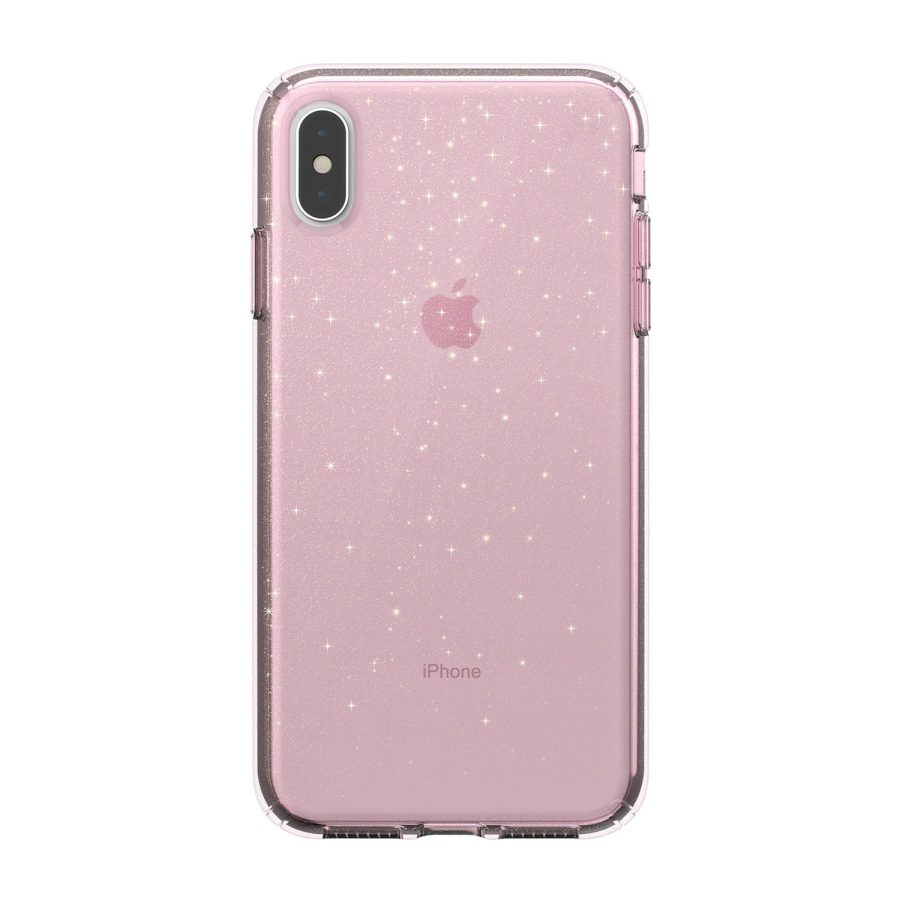 מגן לאייפון speck PRESIDIO XS MAX ורוד נצנצים